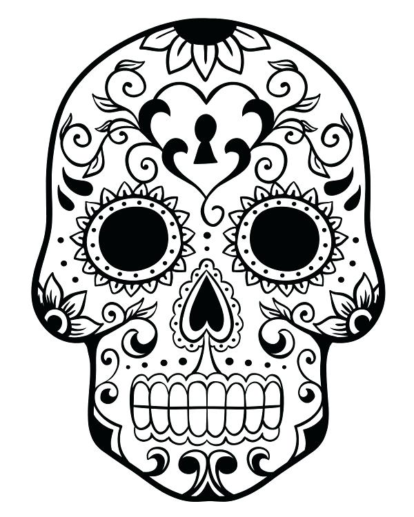 600x750 Halloween Coloring Pages Day Of The Dead New Peachy Design Dia De