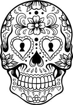 236x338 Opulent Ideas Dia De Los Muertos Coloring Pages Download