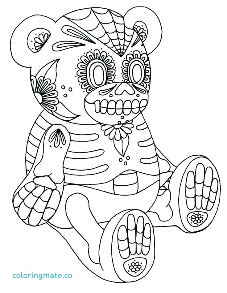 736x947 Day Of The Dead Coloring Page Coloring Pages Sugar Skulls Sugar