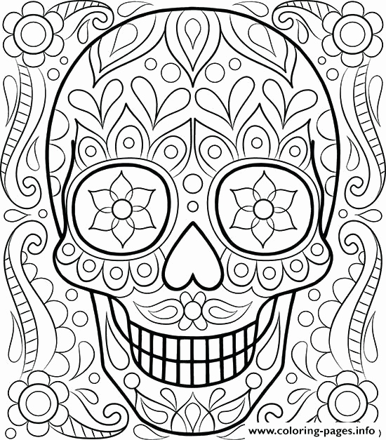 550x627 Day Of The Dead Skeleton Coloring Pages Pictures Day Of The Dead