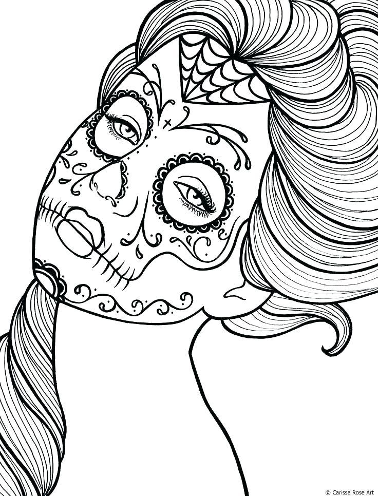 736x966 Dia De Los Muertos Coloring Pages Coloring Pages Dia De Los