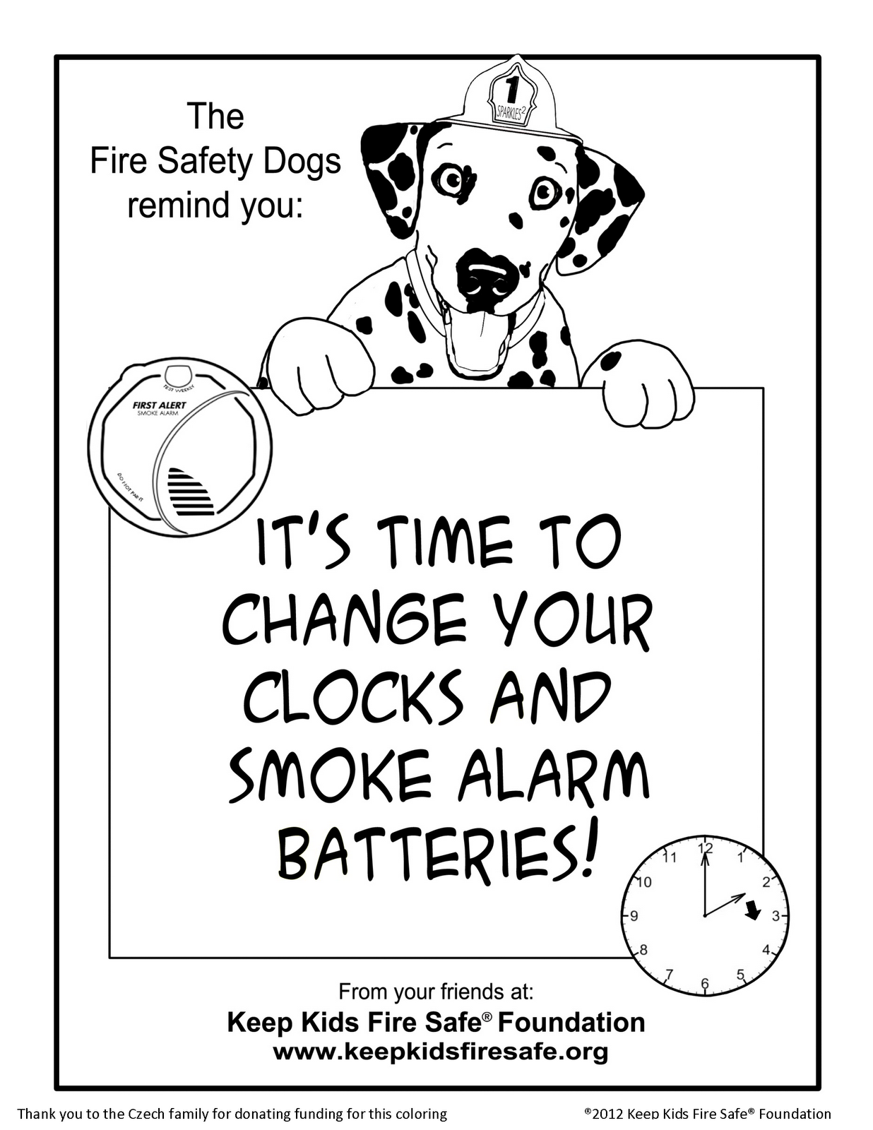 1236x1600 Fire Safety Rocks New Coloring Page, It's Time To Change Your