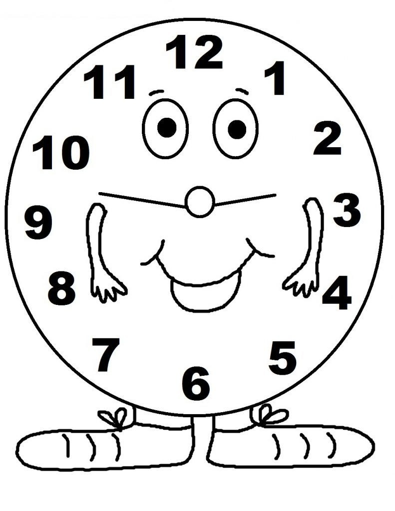791x1024 Free Printable Clock Coloring Pages For Kids Clocks