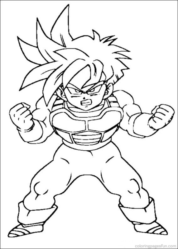 Dbz Coloring Pages At Getdrawings Com Free For Personal Use Dbz
