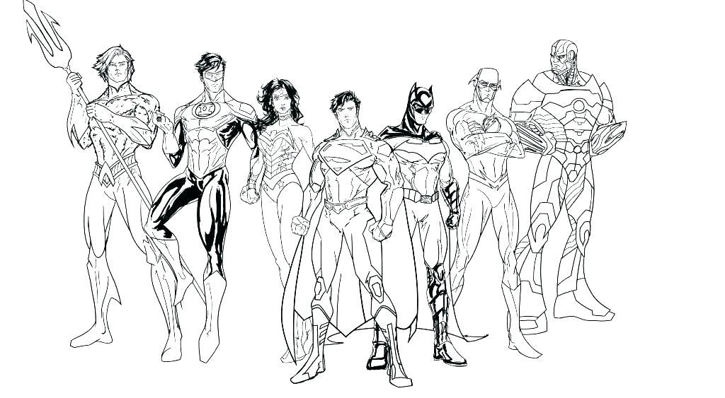 1024x563 Dc Comic Coloring Pages Free Superhero Coloring Pages Dc Super