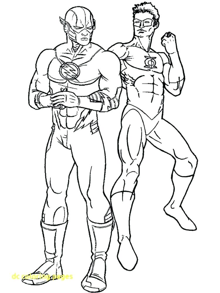 750x1000 Flash Coloring Pages Dc Coloring Pages With Dc Flash Coloring