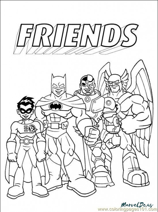 549x733 How Will Coloring Pages Dc Comics Be Heroes Of Marvel And Dc