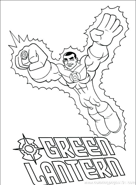 567x771 Dc Comics Coloring Pages