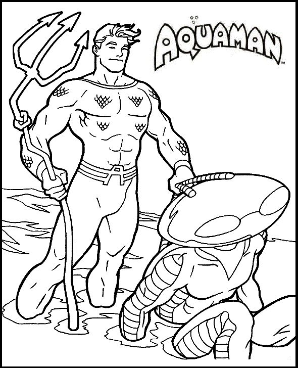 Dc Comics Coloring Pages