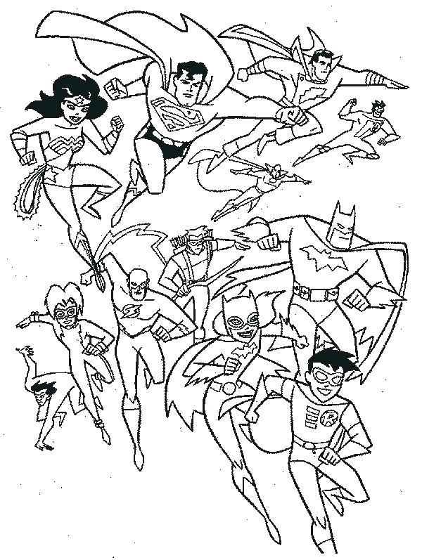 600x797 Dc Comic Coloring Pages Dc Superhero Coloring Pages Dc Superhero