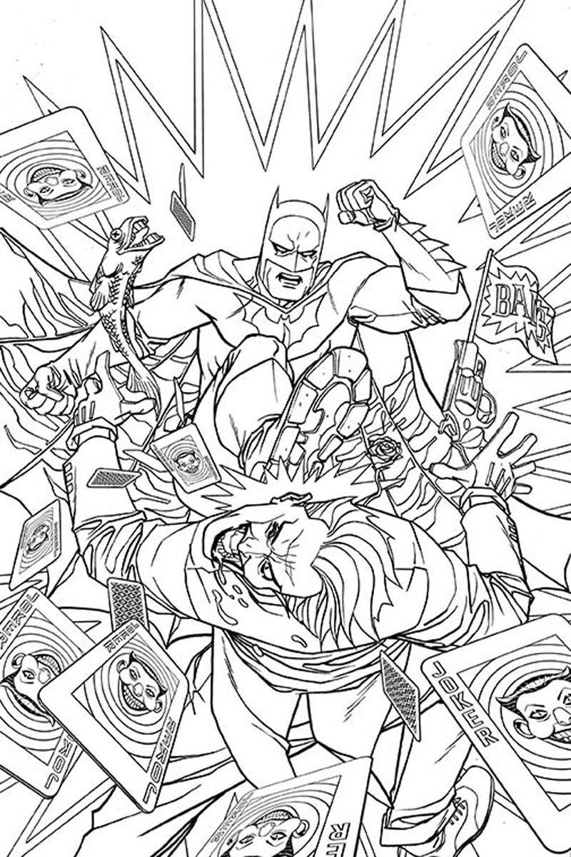 Dc Comics Coloring Pages at GetDrawings com | Free for