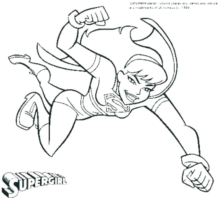 755x692 Comic Coloring Pages Complete Fee Dc Comics Page