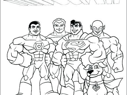 440x330 Dc Super Friends Coloring Pages Dc Super Friends Coloring Pages Dc