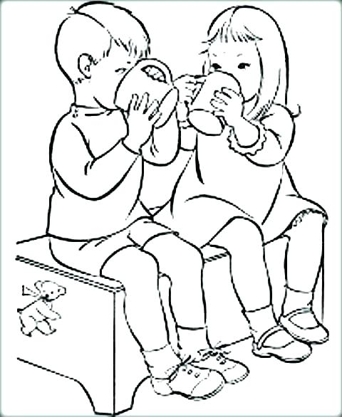 480x586 Friends Coloring Page Best Friend Coloring Pages To Print Friend