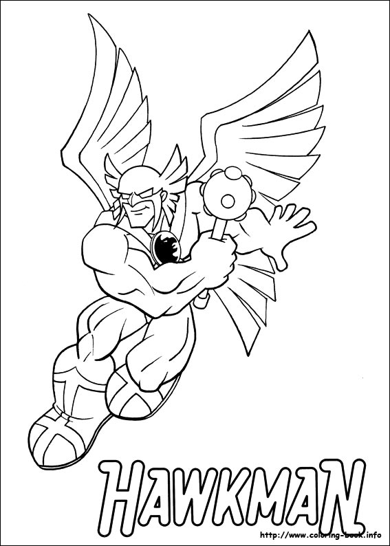 567x794 Super Friends Coloring Pages On Coloring