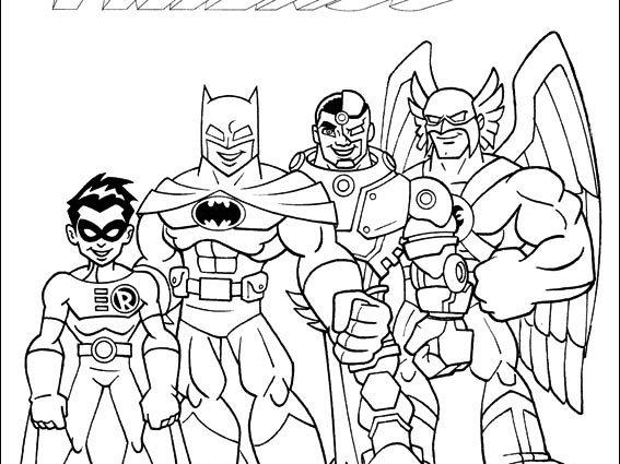 567x425 Dc Super Friends Coloring Pages Super Friends Coloring Pages