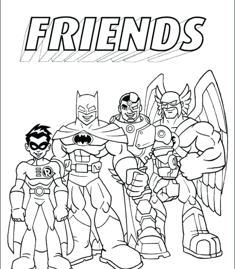 788x900 Character Coloring Pages Coloring Pages Dc Super Friends Printable