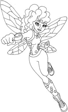236x387 Free Printable Coloring Page For Dc Super Hero Girls Supergirl