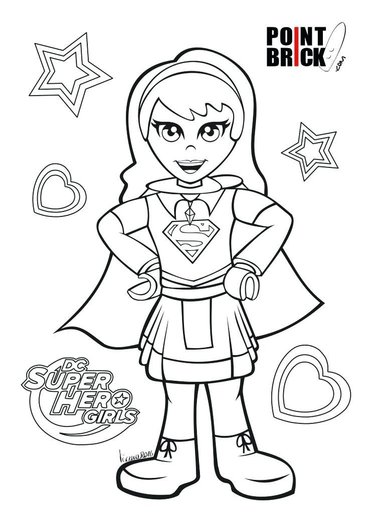 736x1040 Dc Supergirl Coloring Pages Dc Comics Superhero Girls Dc Comics