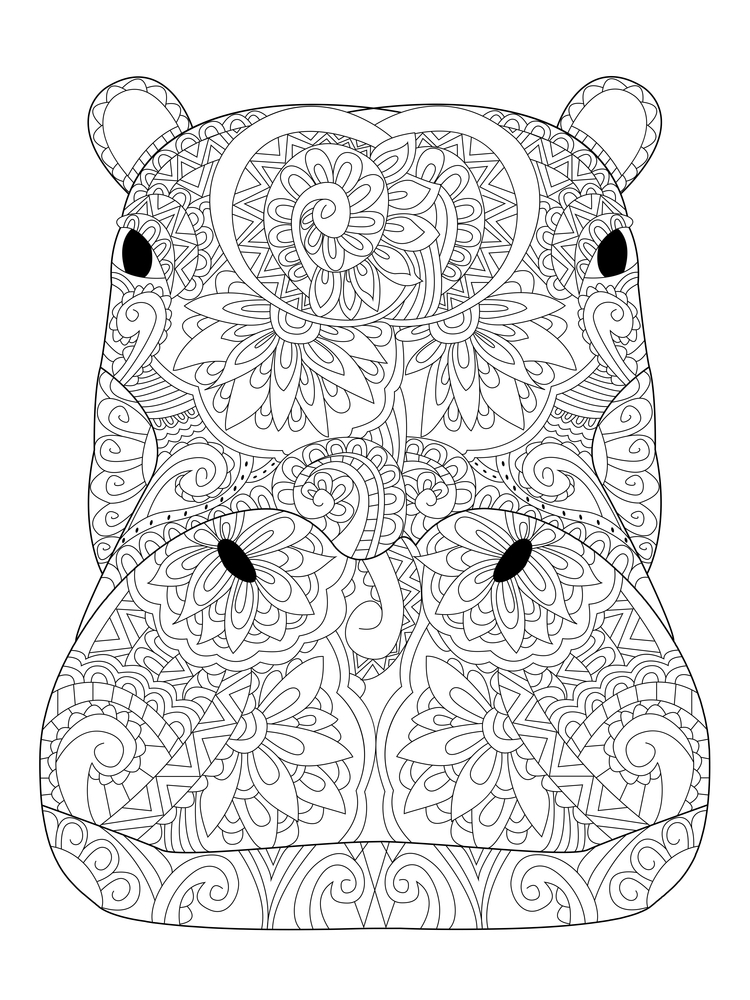 750x1000 Coloring Pages To Destress On Election Night Anti Stress
