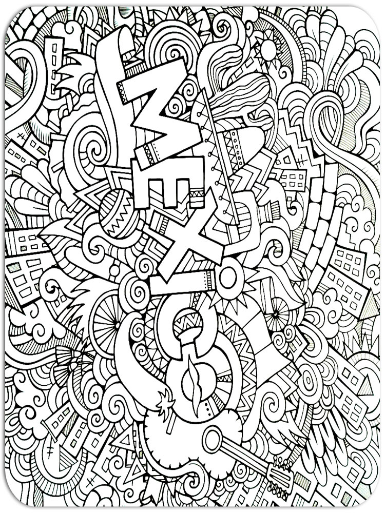 750x1000 Anti Stress Coloring Pages For Adults Free Printable Anti Stress