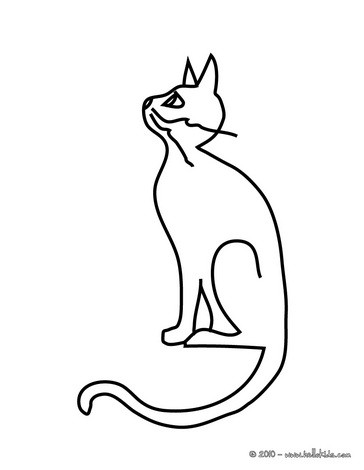 364x470 Black Cat On A Dead Tree Coloring Pages