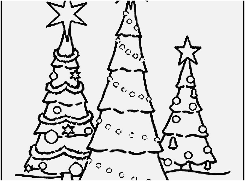 827x609 The Perfect Shoot Christmas Tree Coloring Page Popular