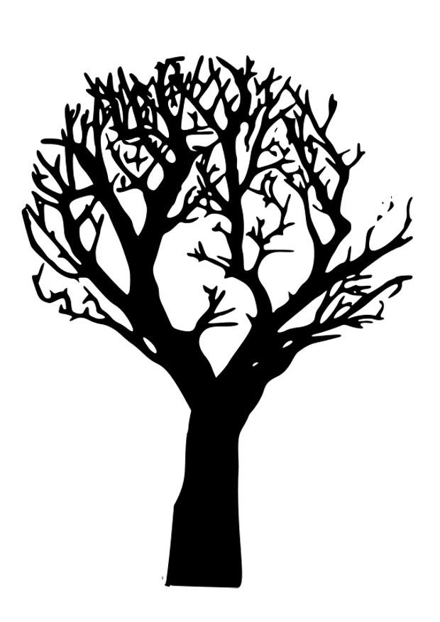 620x875 Coloring Page Dead Tree