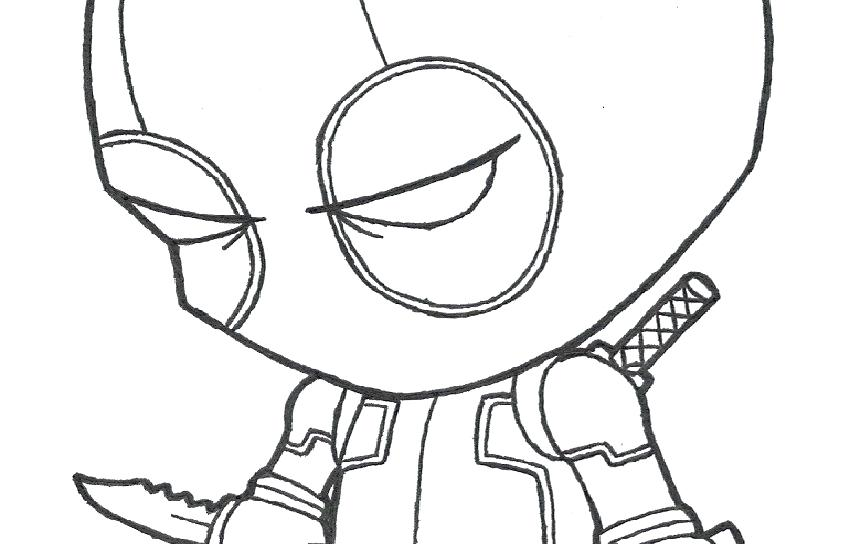 850x544 Deadpool Coloring Pages Coloring Pages Printable Of Marvel