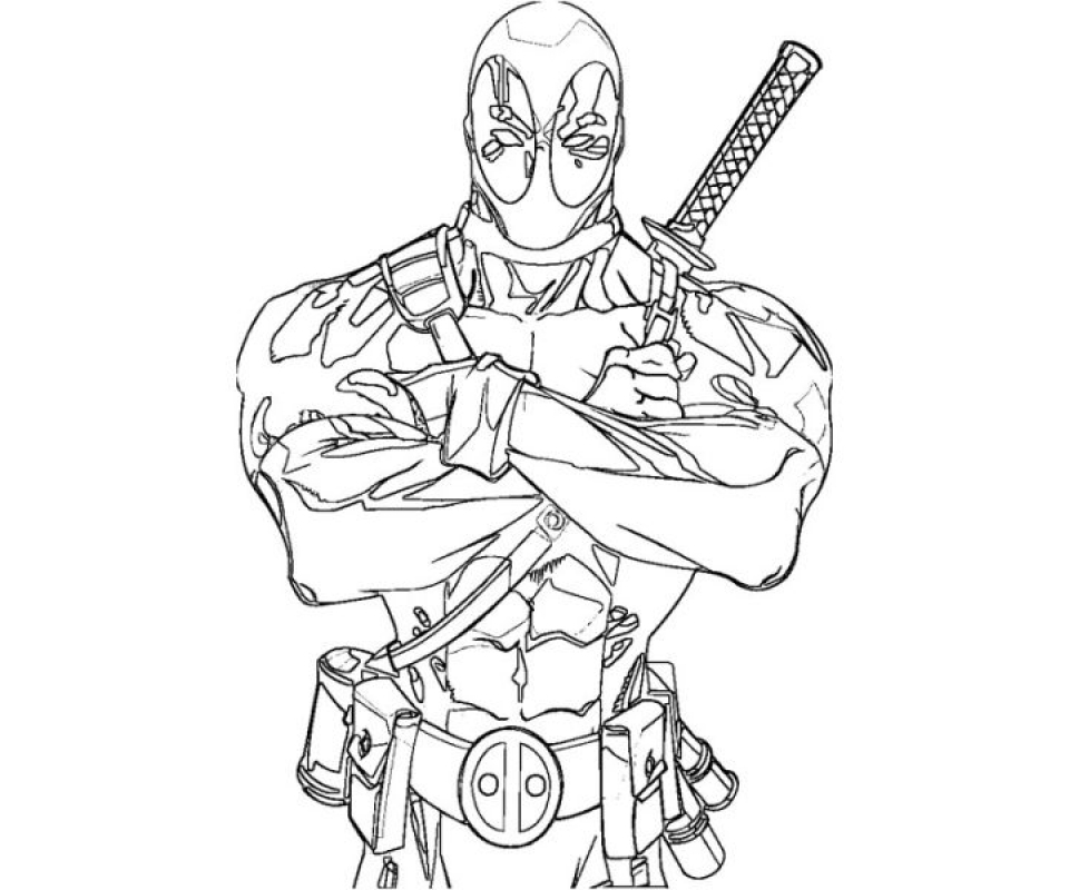 960x800 Get This Deadpool Coloring Pages Free Printable !