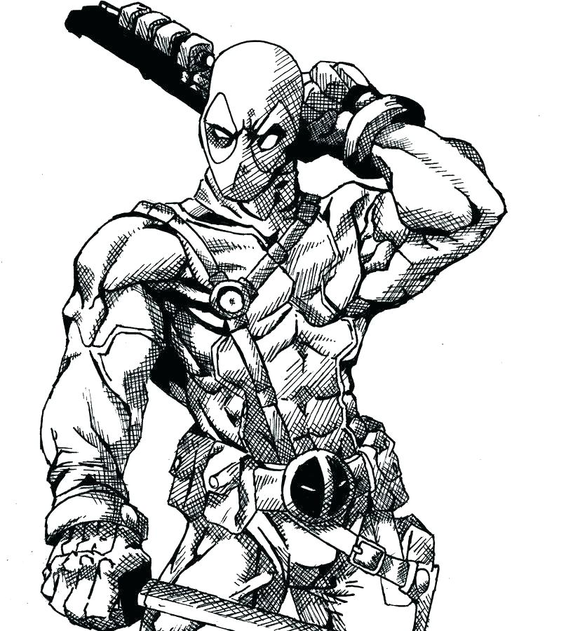 807x900 Deadpool Coloring Pages Coloring Coloring Pages Coloring Page Free