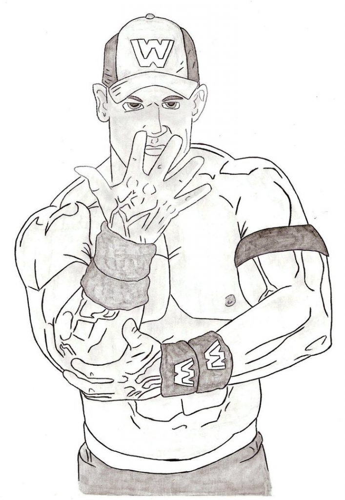 Dean Ambrose Coloring Pages at GetDrawings | Free download