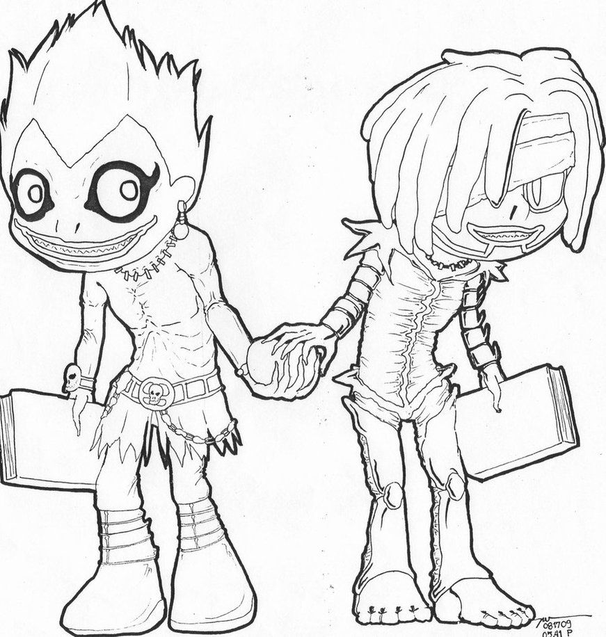 871x916 Image Result For Death Note Coloring Coloring Pages