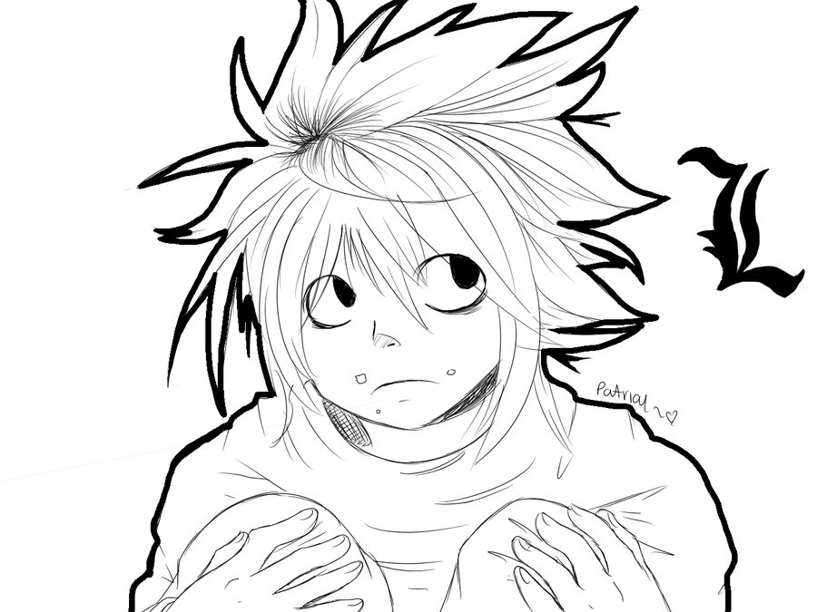 900x675 Death Note Coloring Pages