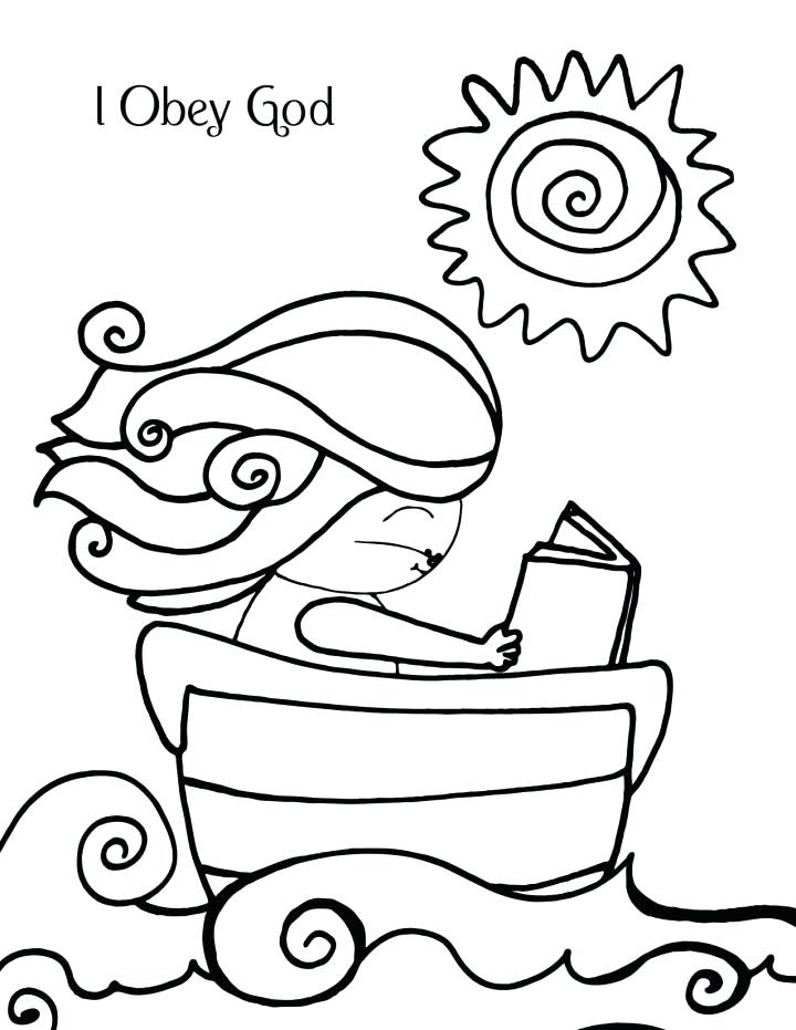 720x931 God Coloring Pages Deborah Obeys God Coloring Page
