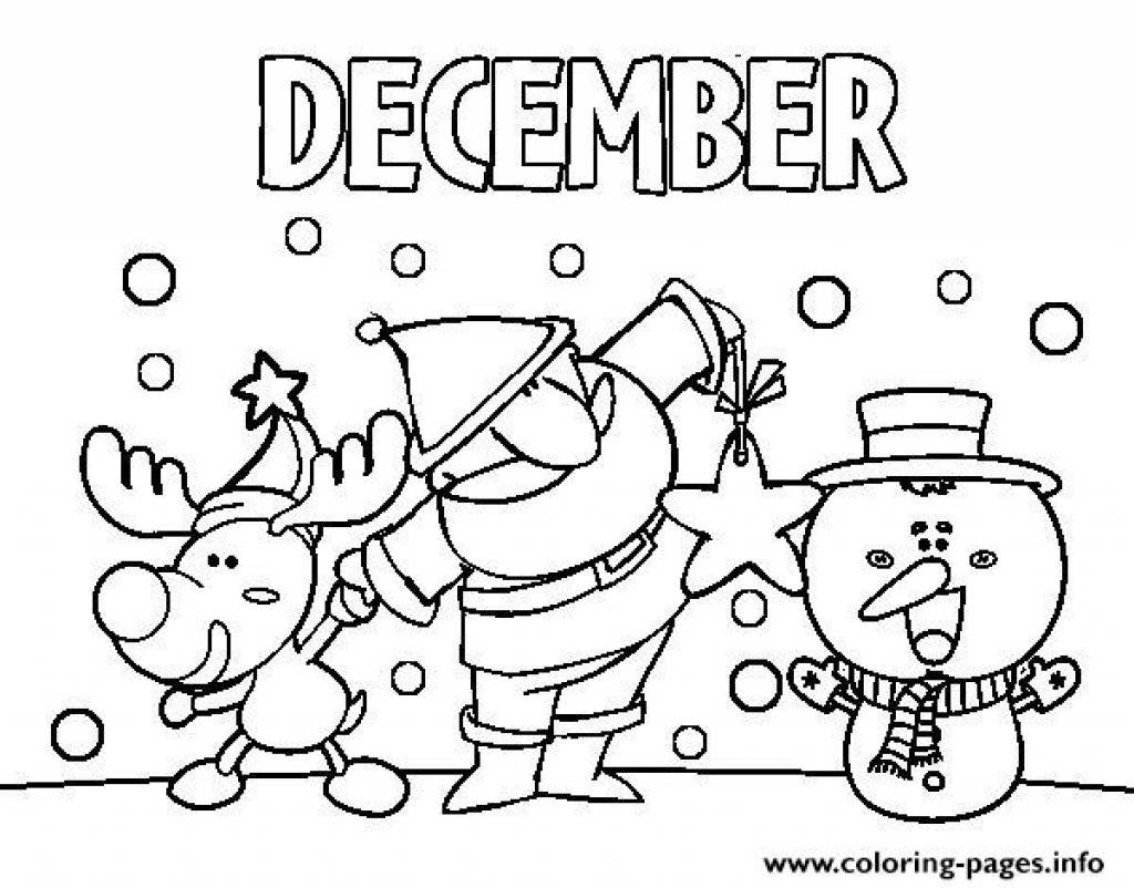 The Best Free December Coloring Page Images Download From 125 Free Coloring Pages Of December At Getdrawings