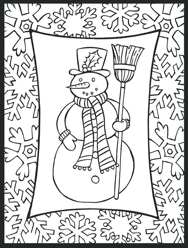 632x830 December Coloring Pages Free Holiday Coloring Pages December