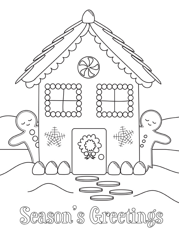 618x800 Coloring Pages For Holidays Top Holiday Coloring Pages Free