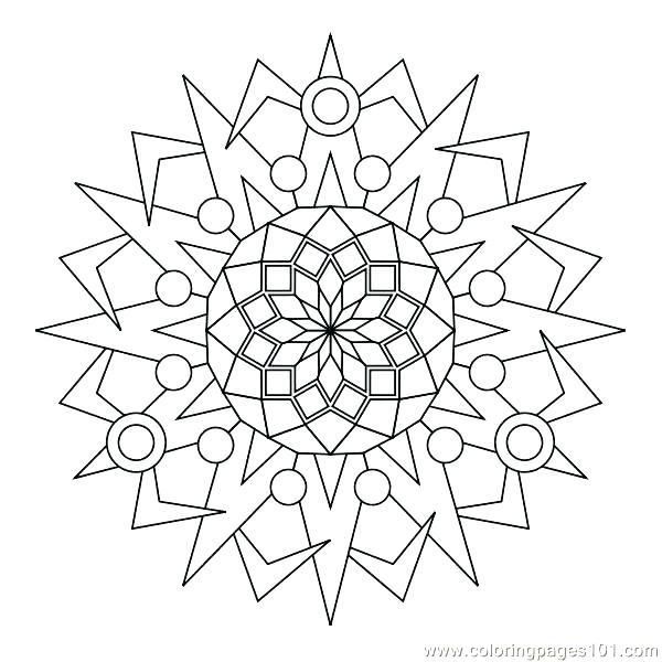 600x600 Circle Coloring Page Circles Coloring Pages Circle Coloring Page