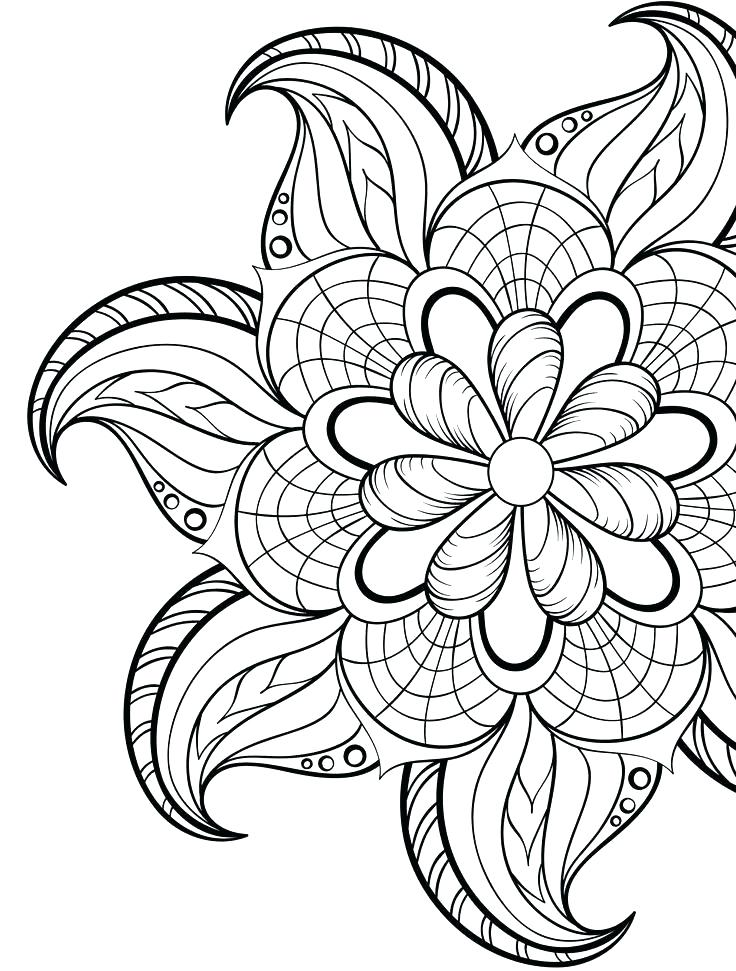 736x971 Fairy Coloring Pages Adults Printable Spring Pictures To Print Odd