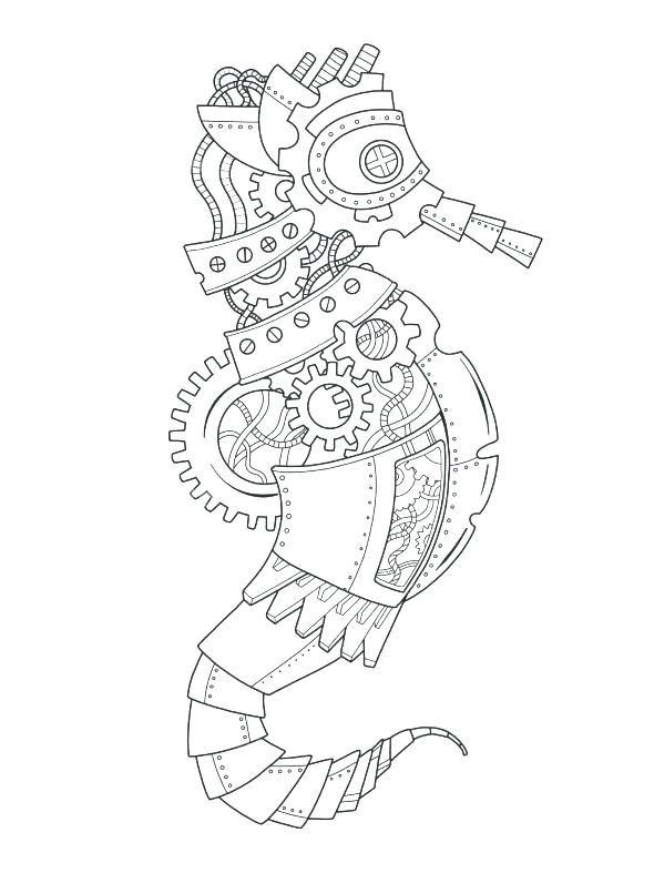 590x787 Sea Horse Coloring Page Horse Coloring Book Plus Style Sea Horse
