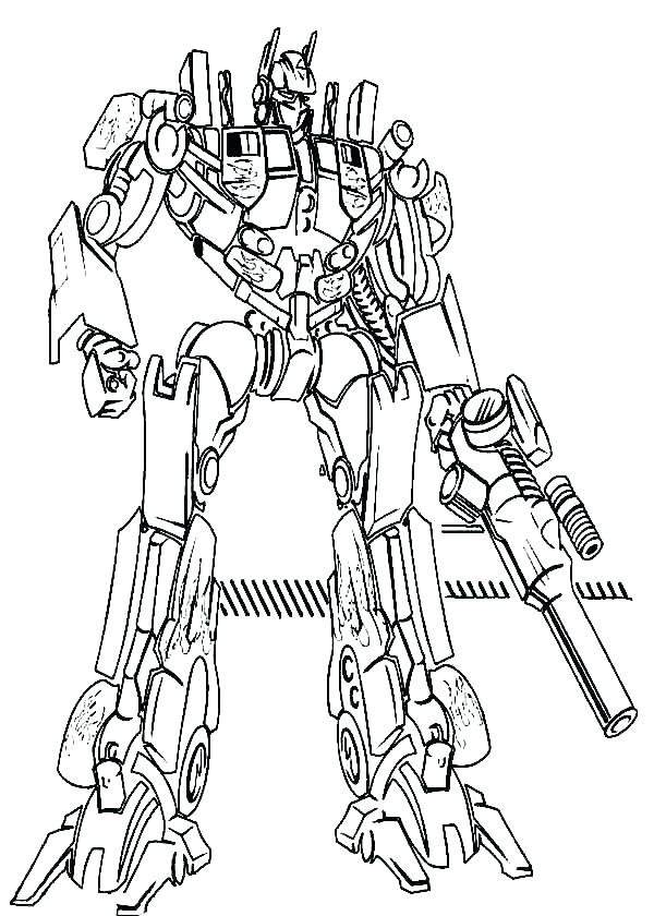 600x840 Transformers Optimus Prime Coloring Pages Free Printable Prime