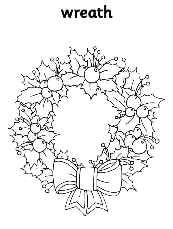 600x793 Wreath Coloring Advent Eath Coloring Page Unbelievable Candle