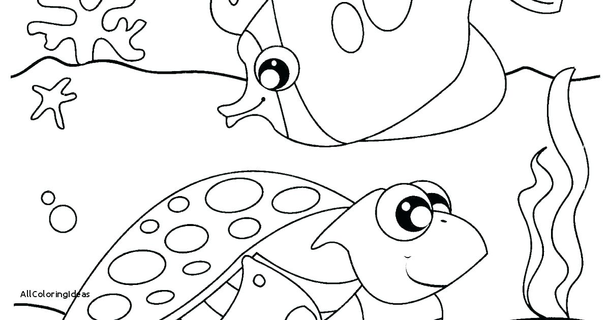 1200x630 Sea Coloring Pages Deep Sea Creatures Coloring Pages Cartoon