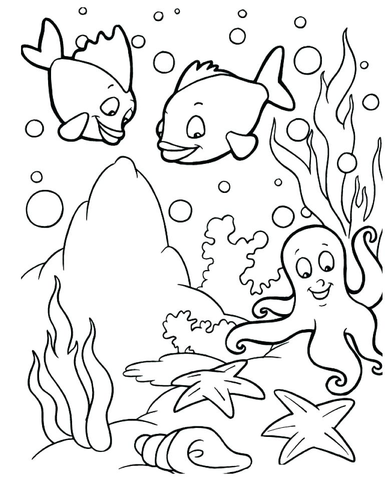 775x960 Deep Sea Creatures Coloring Pages Autoinsuranceny Club
