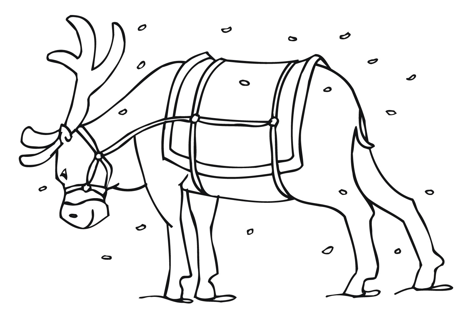 1474x992 Free Printable Reindeer Coloring Pages For Kids