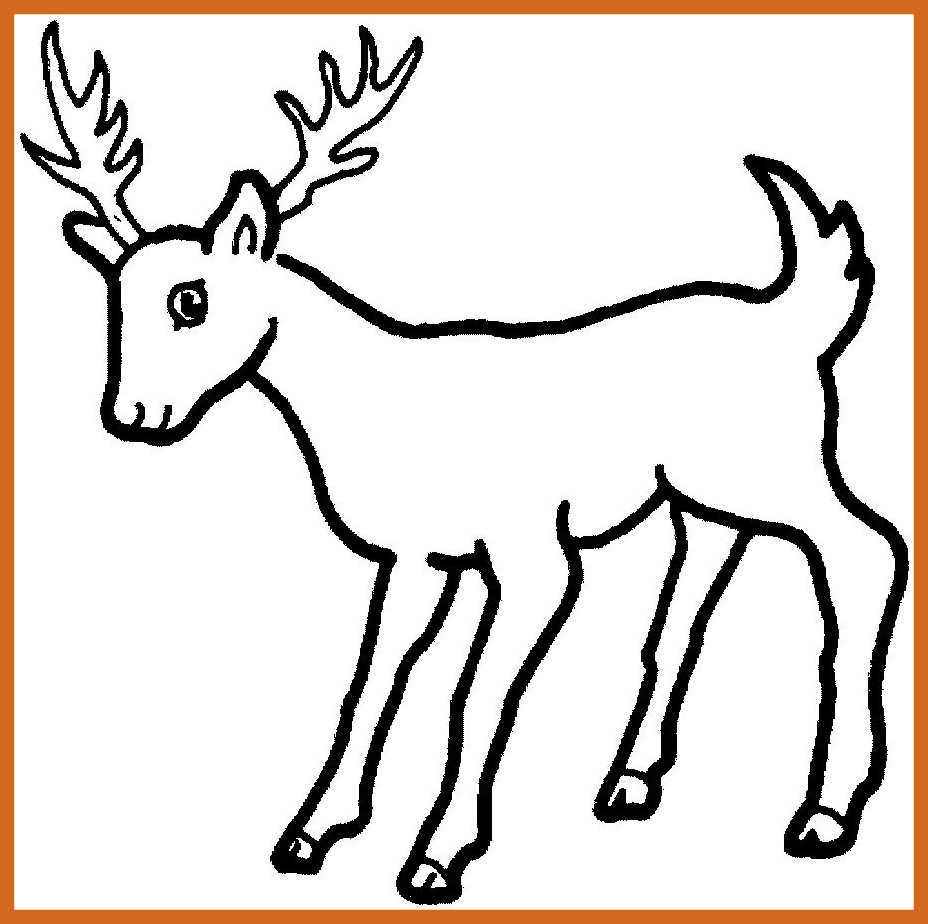 928x924 Incredible Printable Hunting Coloring Pages For Kids Cool Bkids