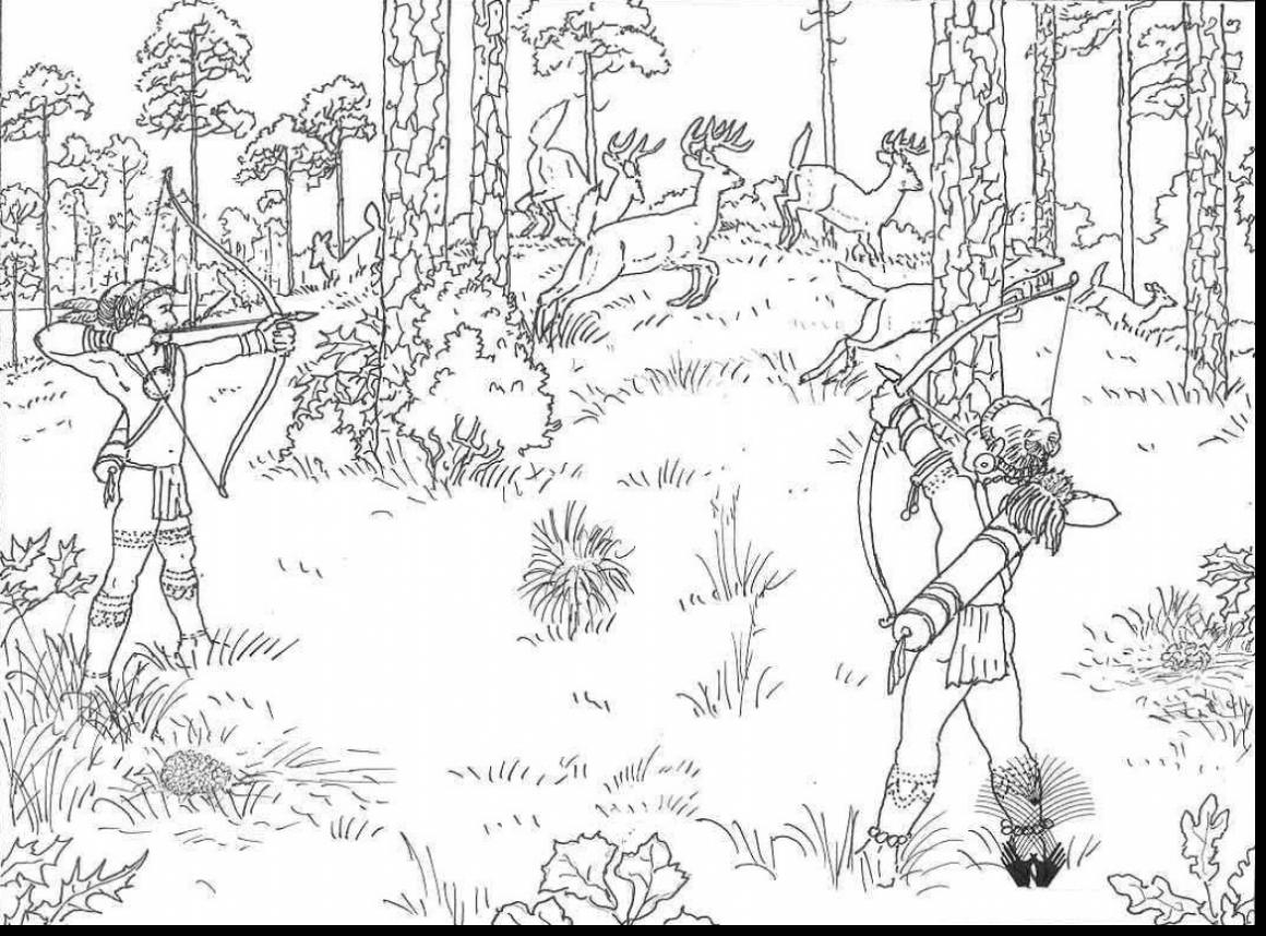 1160x858 Hunting Coloring Pages Outstanding Awesome Deer Ribsvigyapan