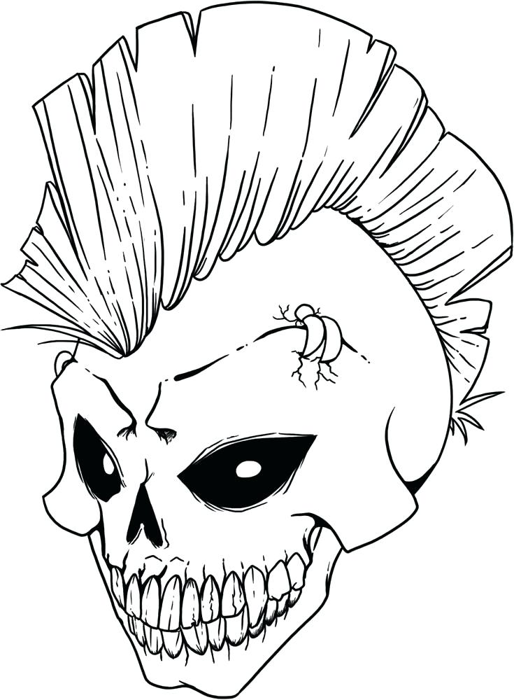 735x1000 Day Of The Dead Skull Coloring Pages Marvelous Design Sugar Skulls