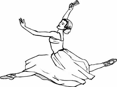 400x300 Original Ballet Coloring Pages You Are Going To Color In With Style